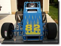 Ed Delarco's Sprint Car by RG Graphix.