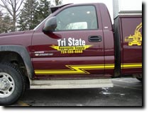 Tri State Aggregate Supply Truck by RG Graphix.